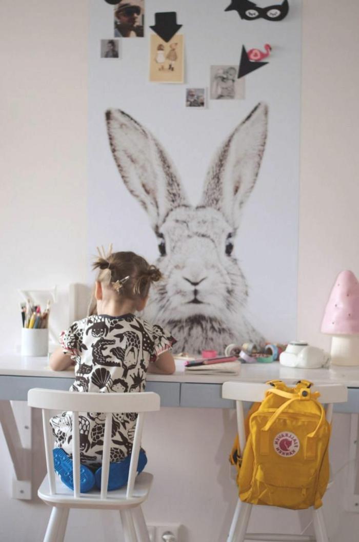 D corer un pan de mur avec nos id es en 42 photos for Decoration murale bebe fille