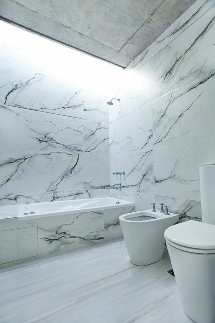 Beaucoup didées en photos pour la salle de bain en marbre