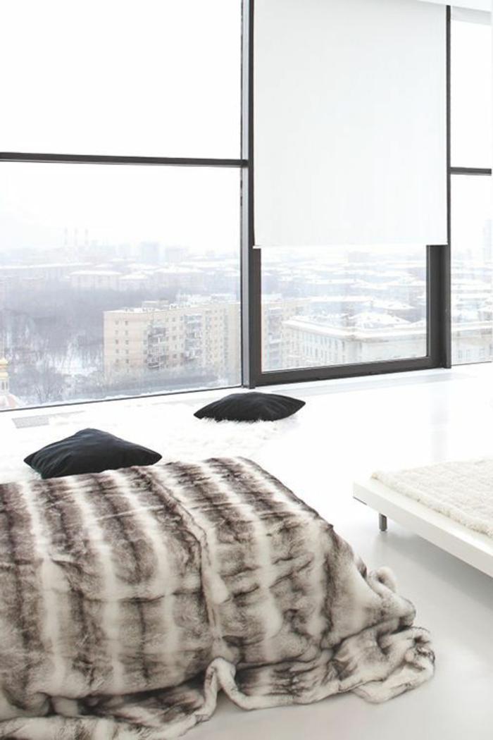 1-la-plus-belle-de-votre-chambre-a-coucher-une-couverture-du-lit-fausse-fourrure