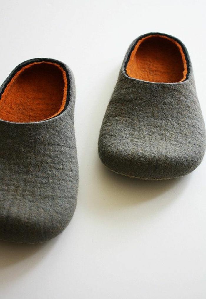 chaussons homme design. Black Bedroom Furniture Sets. Home Design Ideas