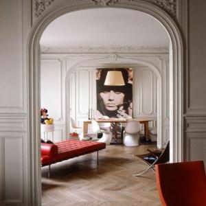 La moulure décorative est un vrai hit dans l'aménagement contemporain!