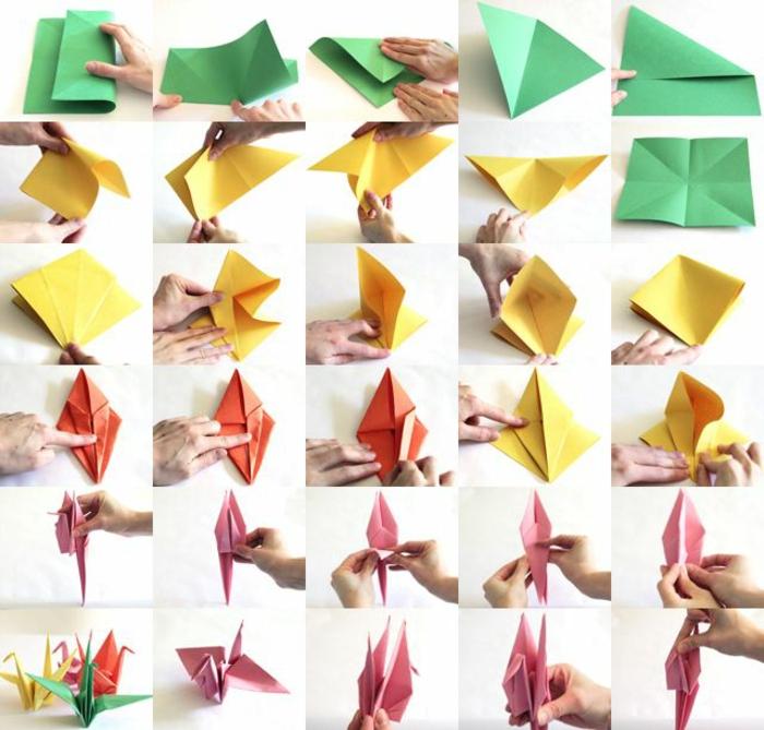 1-origami-facile-pliage-de-papier-coloré-comment-creer-origami-facile-origami-facile-a-faire