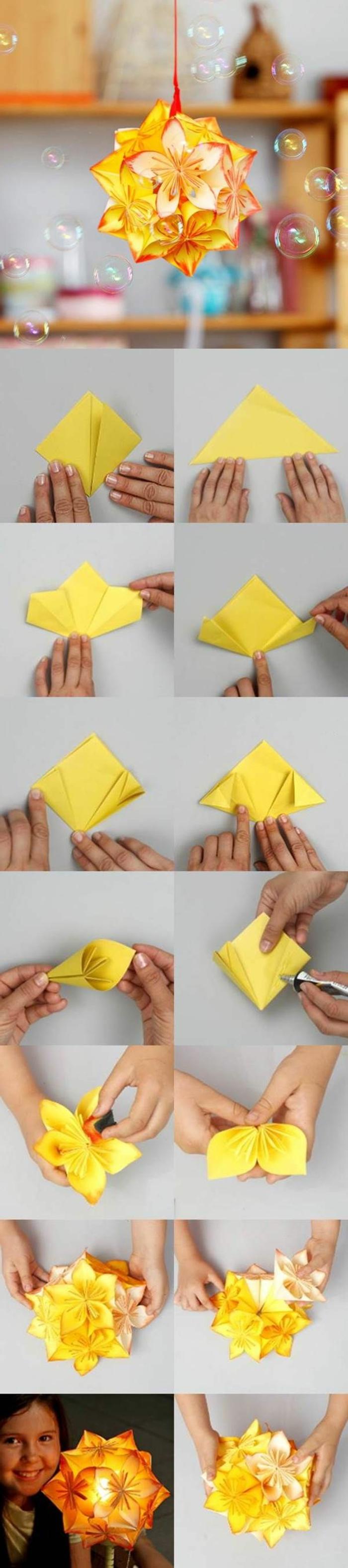 1-pliage-origami-facile-joli-fleur-orange-en-forme-de-fleur-orange-joli-fleur-orange