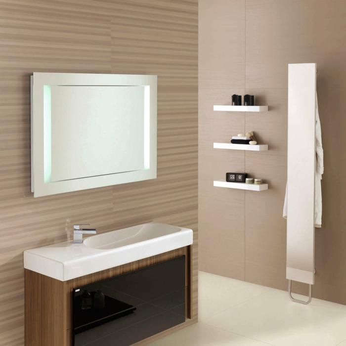 beaucoup did233es en photos pour une salle de bain beige