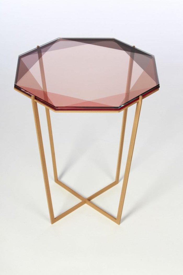 Table basse de salon design ikea - Petite table basse verre ...
