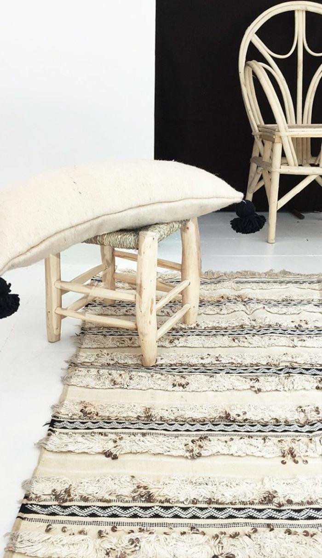 Savourer la beauté de tapis berbère en 44 photos!