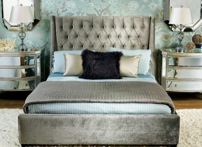 1-tete-de-lit-captionnée-grise-pour-la-chambre-a-coucher-baroque-lit-baroque-gris