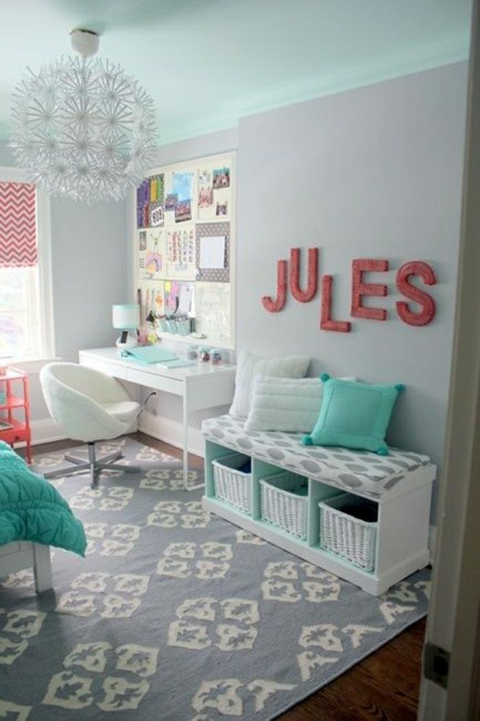 44 super id es pour la chambre de fille ado - Comment faire une chambre d ado ...