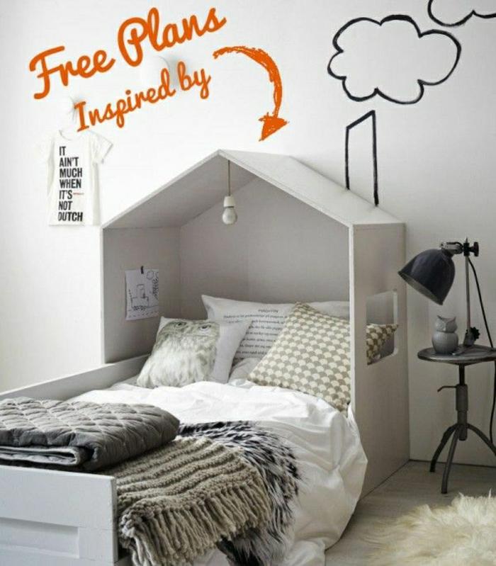 2-comment-decorer-un-pan-de-mur-dans-la-chambre-d-enfant-lit-cabanne-en-bois