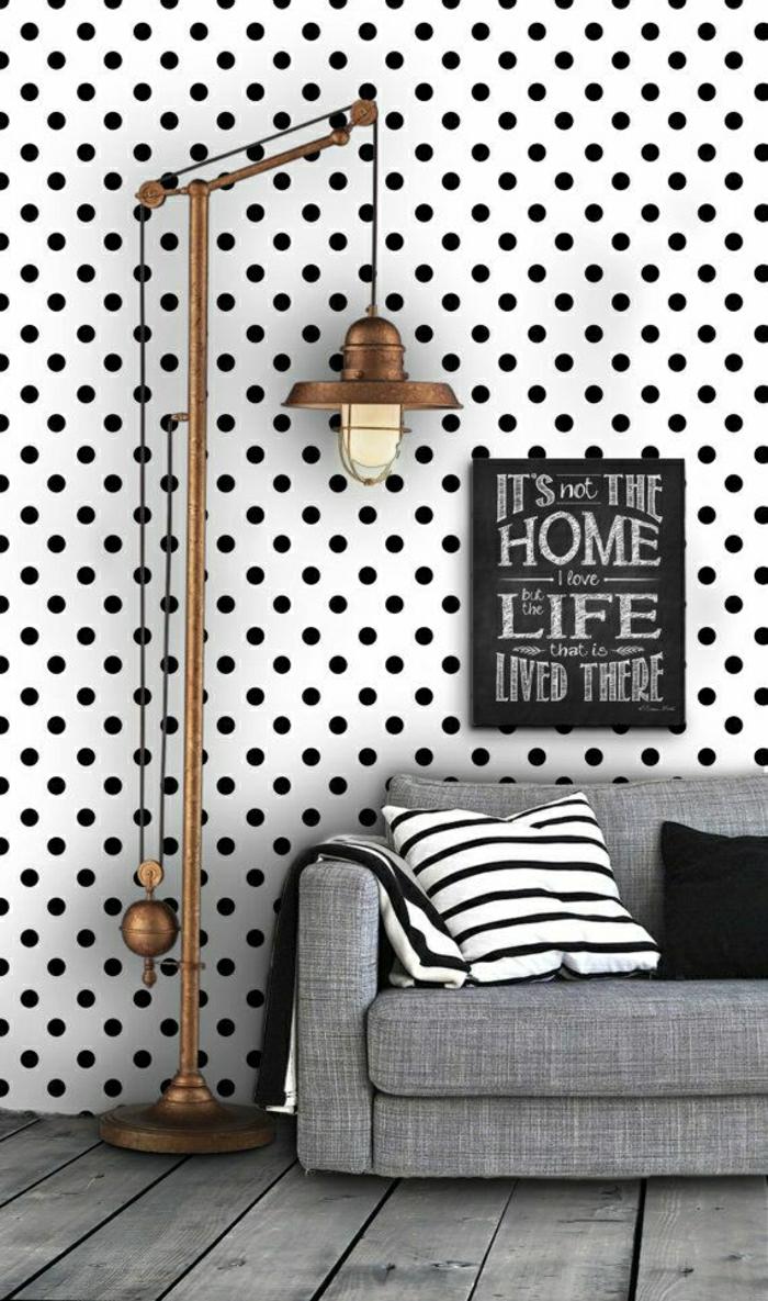 2-jolie-tapisserie-blanc-noir-aux-pointes-noires-tapisserie-blanc-pour-les-murs-originaux