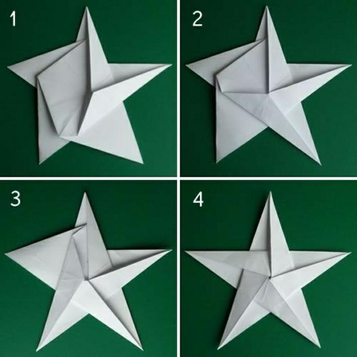 origami facile a faire etoile