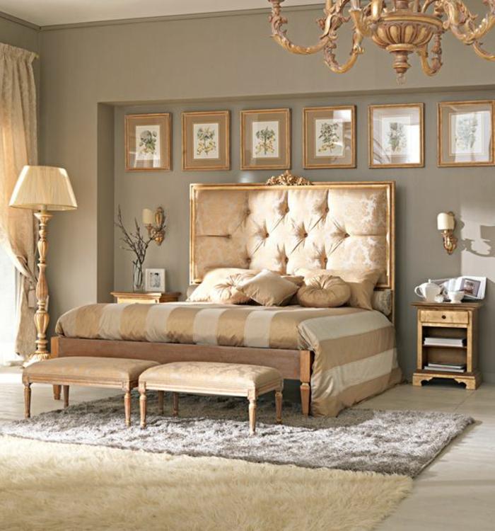 3-tete-de-lit-matelassée-de-style-baroque-pour-la-chambre-a-coucher-dore-beige-tapis-beige