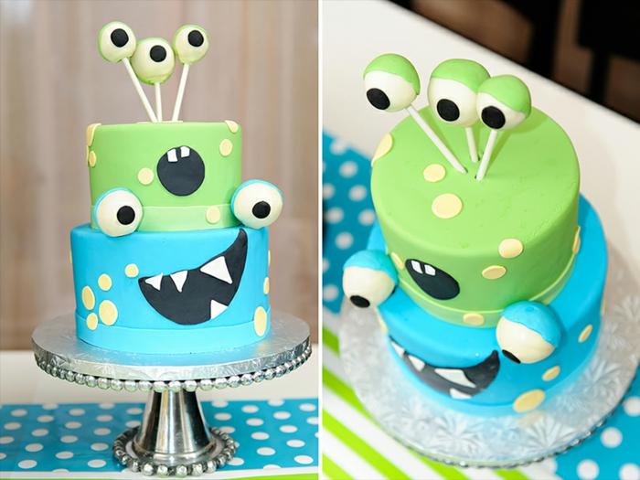 Anniversaire-fille-monstre-et-cie-thematique-un-gâteau