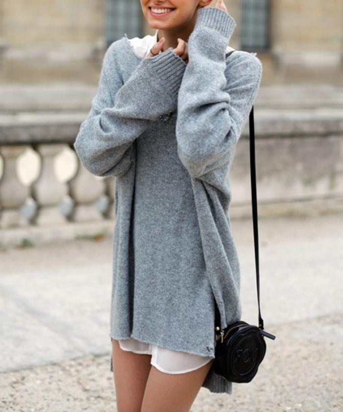 Belle-idée-tenue-de-jour-avec-pull-cachemire-street-style