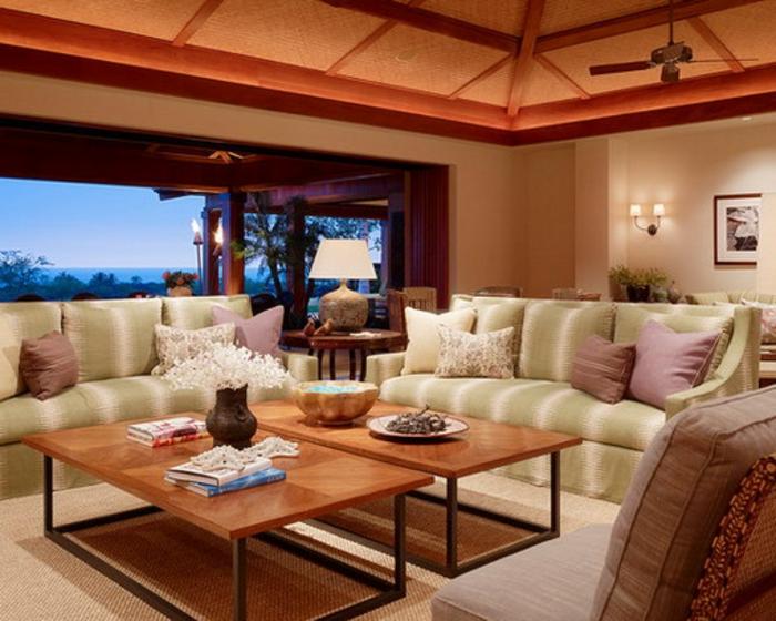 Belle-maison-décorée-pour-créer-de-l-ambiance-cozy-beau-dalon