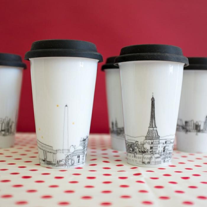 Boire-café-dans-tasse-isotherme-tasse-thermos-paris-dessin-stylisé