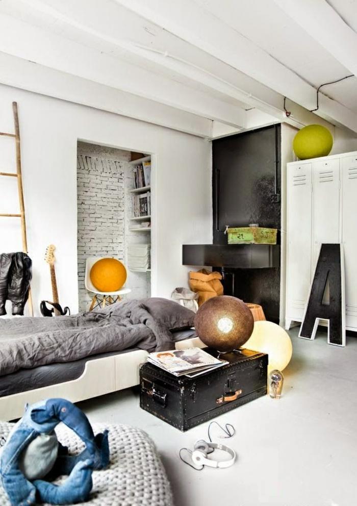 Bonne-idée-déco-chambre-ado-décoration-chambre-belle-déco