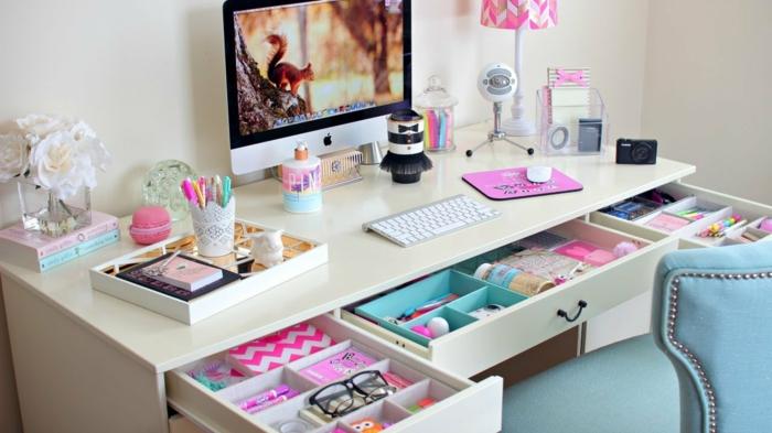 Bonne-idée-déco-chambre-ado-décoration-chambre-bureau-ecole