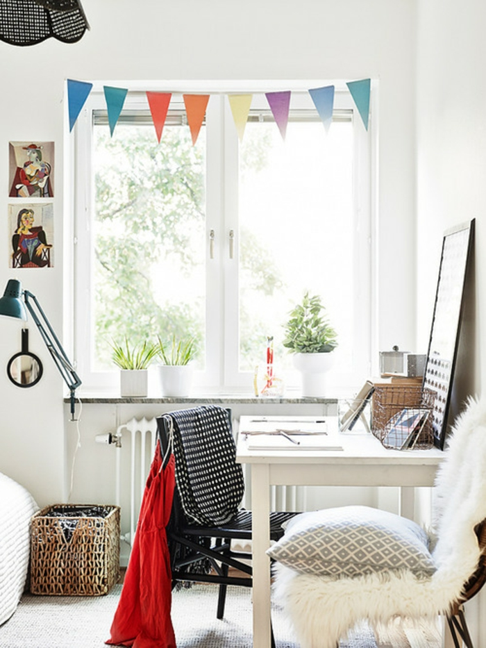 Bonne-idée-déco-chambre-ado-décoration-chambre-chaise
