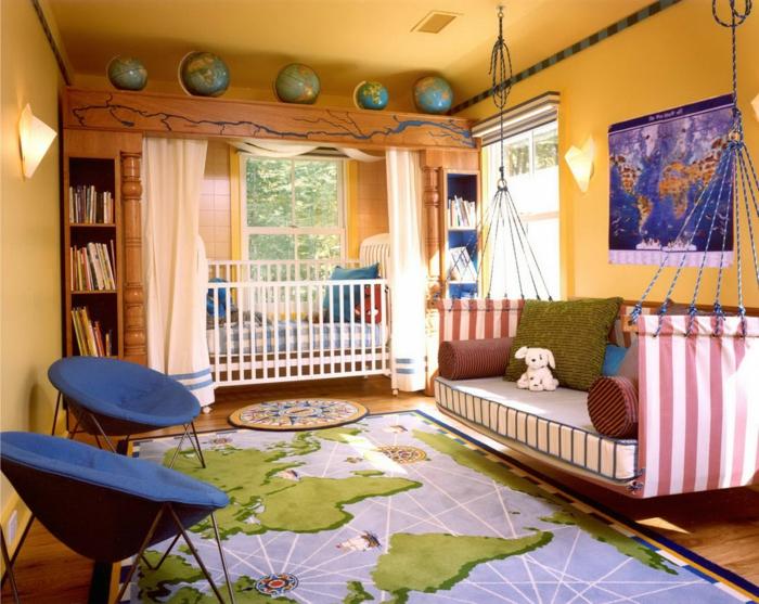 Bonne-idée-déco-chambre-ado-décoration-chambre-le-monde