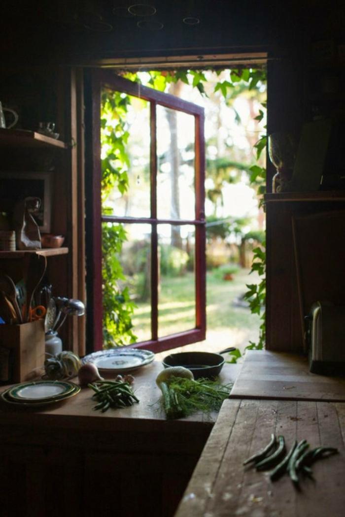 Decoration-cosy-déco-ambiance-cosy-pièce-jolie-cuisine-rustique
