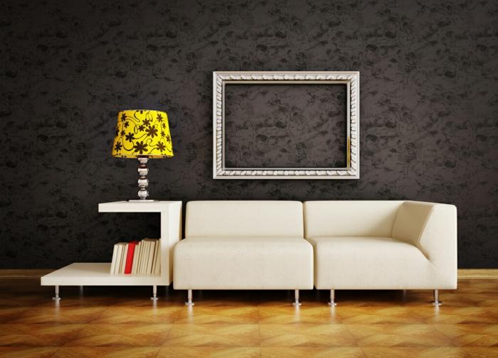 Faire-aménagement-utile-et-facile-avec-la-lampe-livre-peinture-cadre