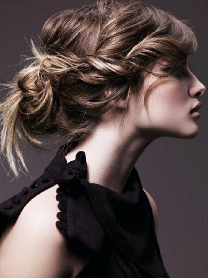 ... coiffure-jolie-le-chignon-tressé-original-romantique-coiffure-chignon