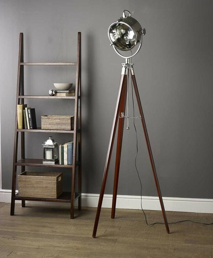 Idée-déco-avec-le-lampadaire-de-salon-belles-idées-luminaire-design-industriel