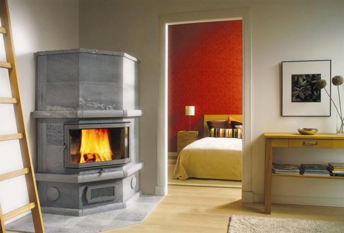 Idée-intérieur-design-poele-godin-poele-à-bois-chauffage-central