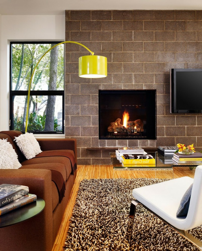 Idée-quelle-lampe-lecture-choisir-maison-pièce-design-feu-cheminée