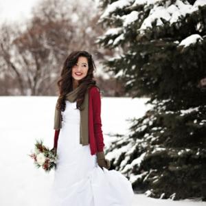 La robe de mariée d'hiver - 45 photos qui vont vous charmer!