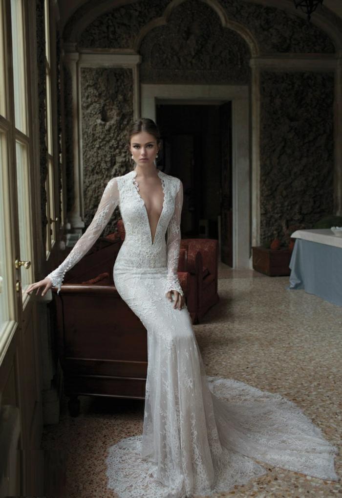 La robe de mariée d'hiver - 45 photos qui vont vous charmer! - Archzine.fr