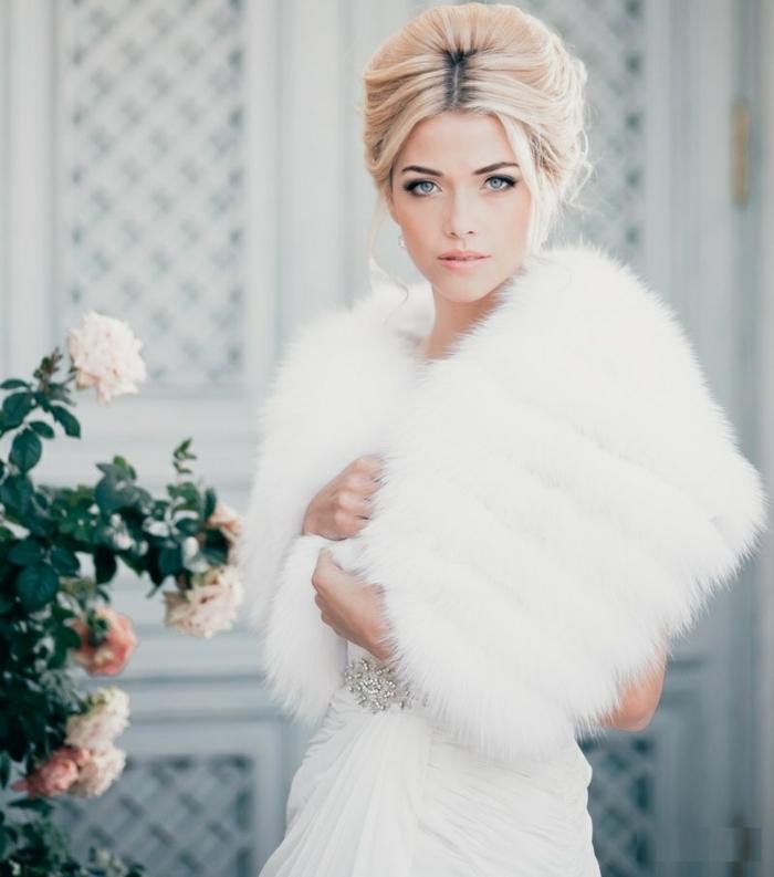 la robe de mari e d 39 hiver 45 photos qui vont vous. Black Bedroom Furniture Sets. Home Design Ideas