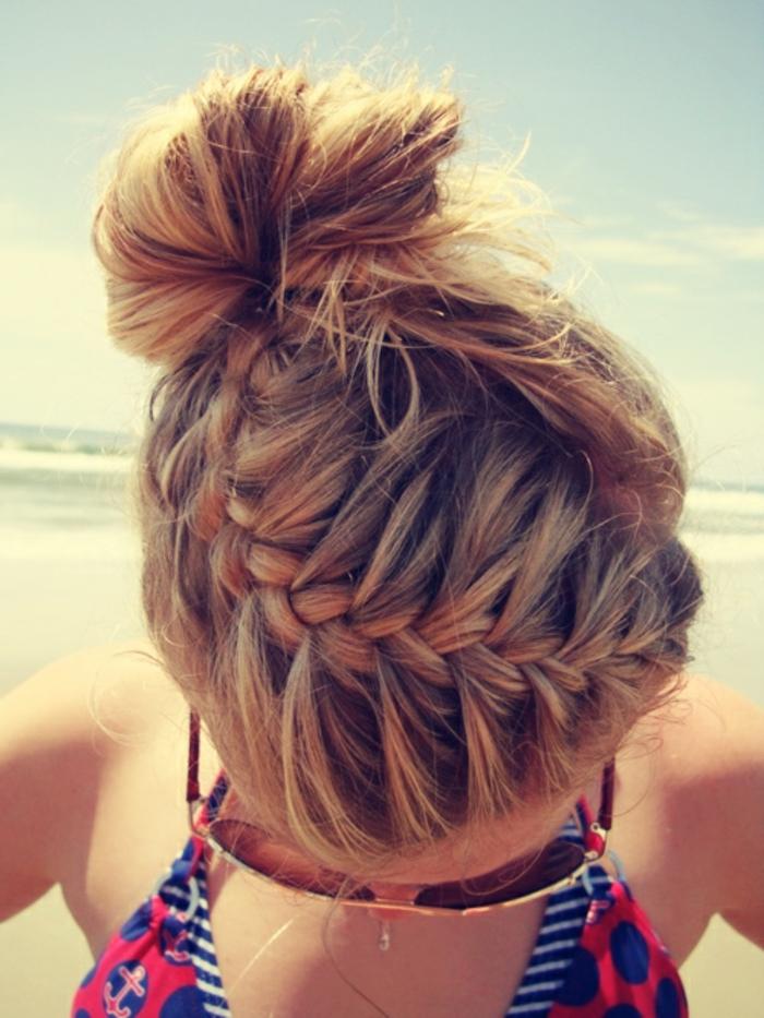Le-chignon-tresse-coiffure-messy-bun-diy-plage-soleil