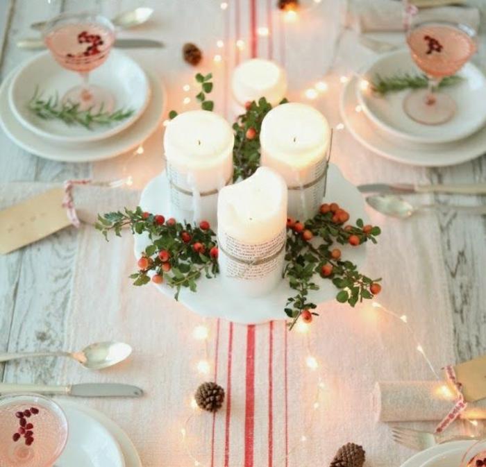 Le-sapin-de-noel-original-décoration-de-noël-table-fete