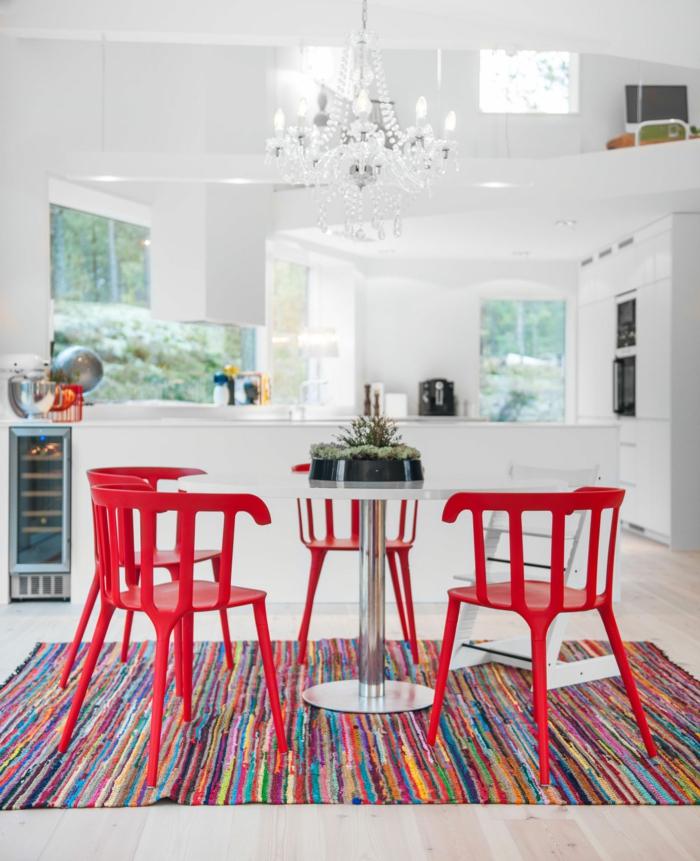 Le-tapis-colore-bon-pour-la-salle-de-séjour-lux-cuisine