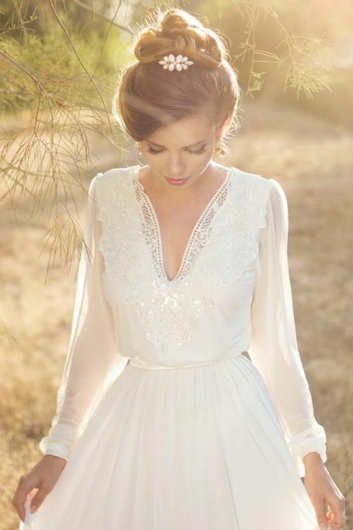 Mariage-robe-de-mariée-d-hiver-bohème-robe-vintage-femme-jolie-resized