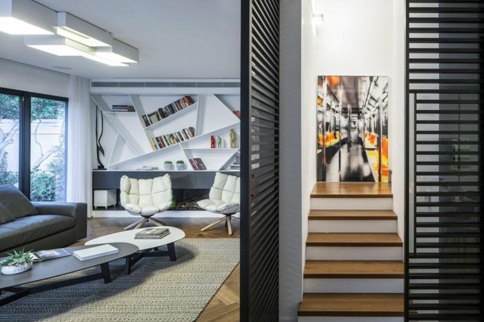 Salle-de-séjour-tapis-moderne-salon-contemporaine-idée-magnifique