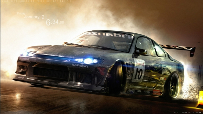 Voiture-de-drift-wallpaper-idées-cool-sport-extrème-wallpaper-drift