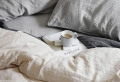 La housse de couette bicolore – idée moderne pour la chambre à coucher