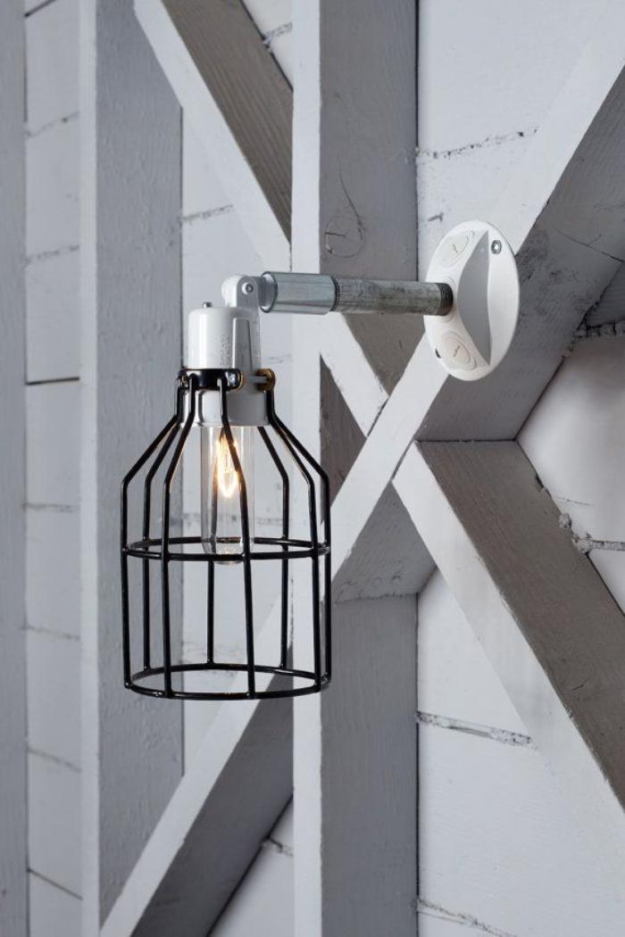 appliques-extérieures-applique-cage-contemporaine
