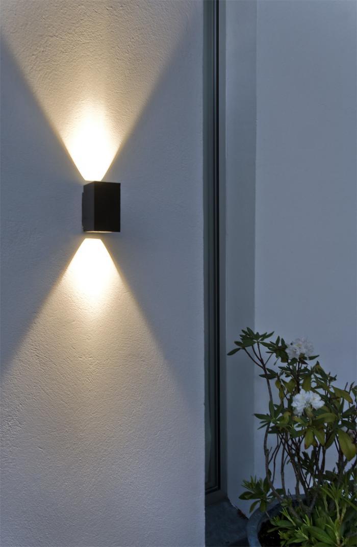 Les appliques ext rieures lesquelles choisir pour for Luminaire exterieur facade design
