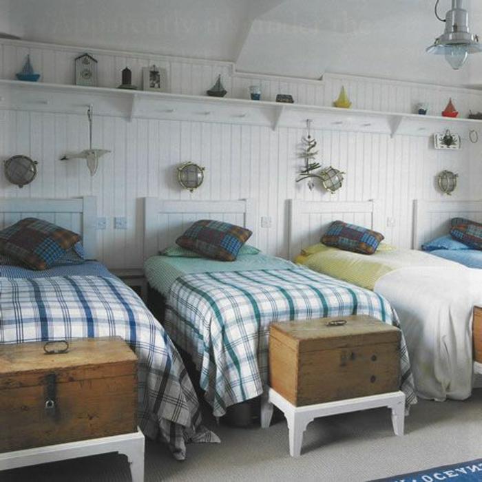banquette-bout-de-lit-bout-lit-ikea-comment-bien-amenager-la-chambre-a-coucher-enfant-lits