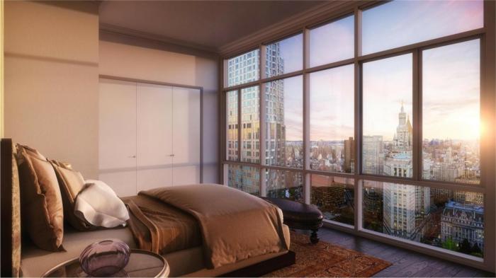 belle-chambre-à-coucher-amenagement-lit-ligne-magnifique-vue