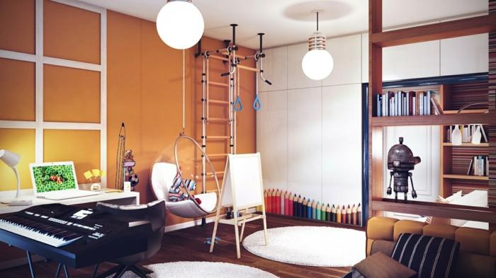 belle-idée-chambre-déco-ado-belle-design-intérieur-balancoire