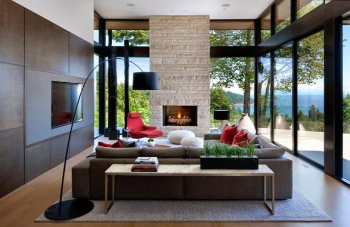 belle-idée-pour-design-lampadaire-salon-design-magnifique-cheminée-belle-vue