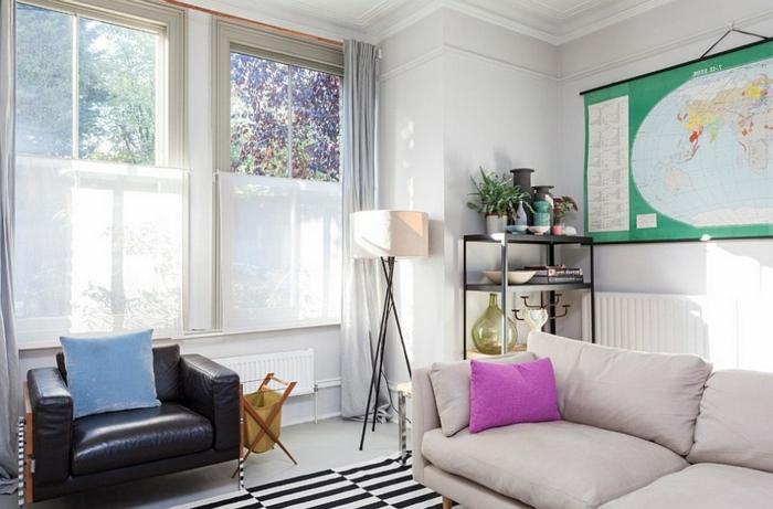 belle-idée-pour-design-lampadaire-salon-design-magnifique-cool-idée-aménagement