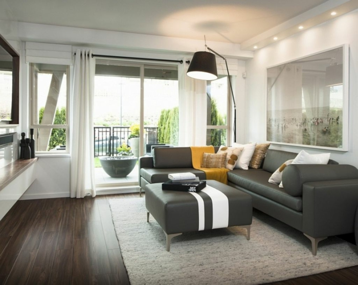 belle-idée-pour-design-lampadaire-salon-design-magnifique-en-gris-cool-balcon