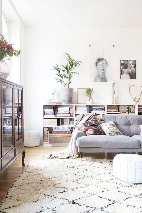 belle-salle-de-sejour-canape-gris-couverture-sofa-idees