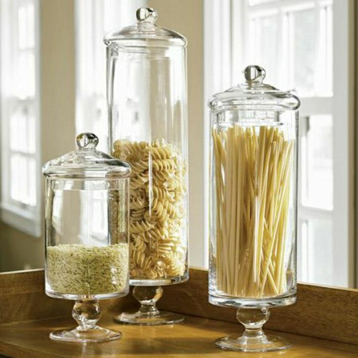 Les bocaux en verre sont un vrai hit pour la cuisine - Tout pour la cuisine pas cher ...